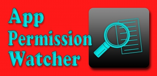Logo App Permission Watcher